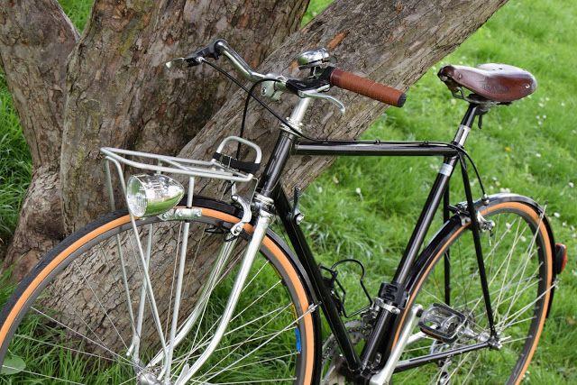 Black metallic bike