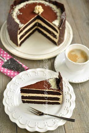 Schoko Karamell Torte Rezept Backen Pinterest
