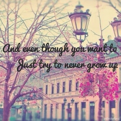 Never Grow Up by Taylor Swift. Can't listen to this song without crying. Hysterically.
