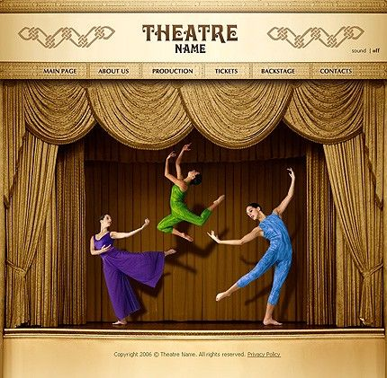 8 best images about theatre website on pinterest