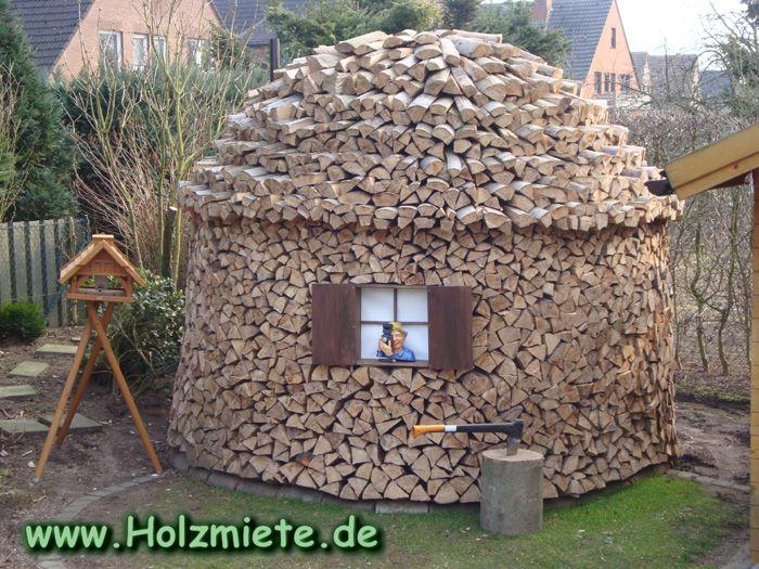 Buchenholz Ohne Maschinelle Hilfe Zerkleinert Brennholz