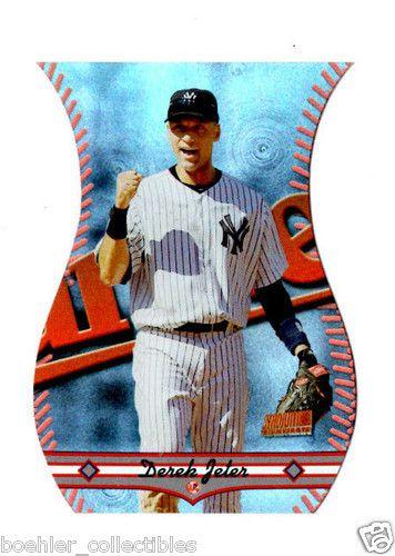 2013 Topps Archives Stadium Club Triumvirate Die-Cut #T-5B Derek Jeter  Yankees