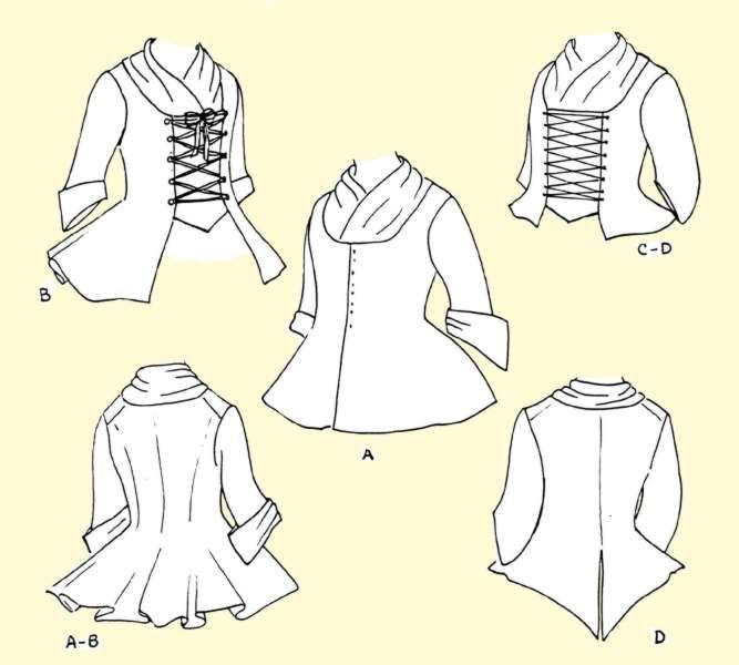 Maybe for me... fencing pattern jacket sca, was thinking I'd like to try fencing again at least at practices...