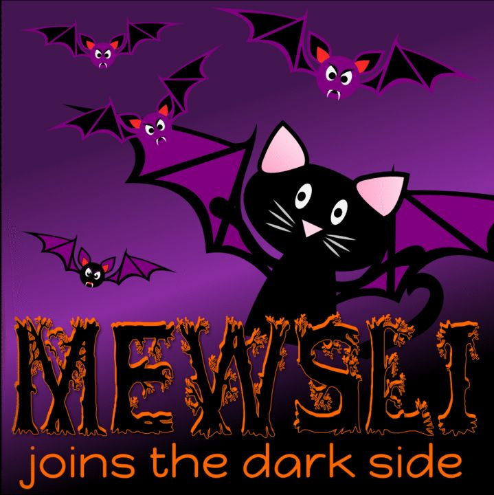 Mewsli is getting in a flap about Halloween! He gets SO excited! #Mewsli #Marketing #Halloween #Entrepreneur