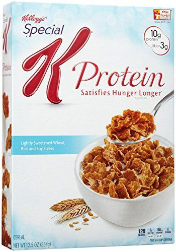 Kellogg's Special K Special K Protein Cereal - 12.5 oz - http://sleepychef.com/kelloggs-special-k-special-k-protein-cereal-12-5-oz/