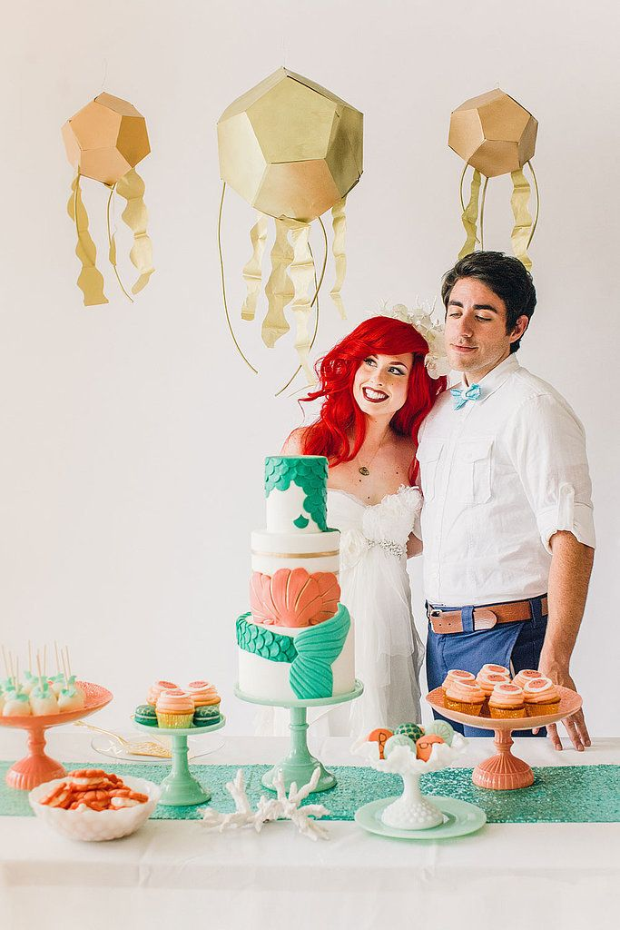 84 best Little Mermaid Wedding images on Pinterest   Beach weddings ...