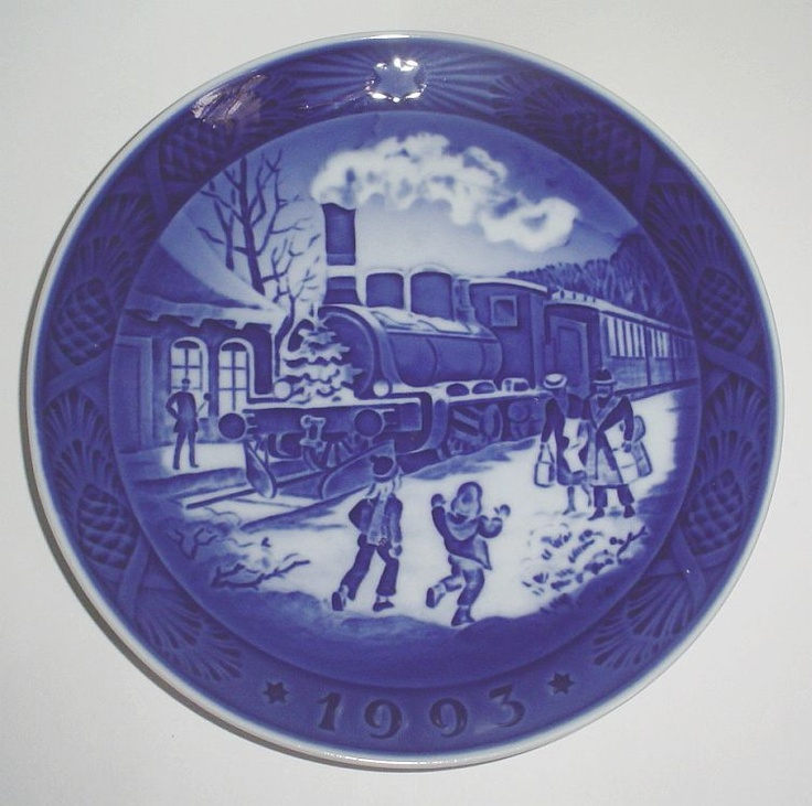 35 best Royal Copenhagen Christmas plates images on Pinterest ...