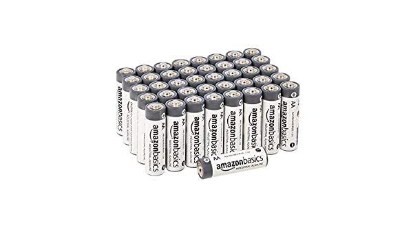 Amazoncommercial Aa Alkaline Batteries 250 Count Amazon Ca Electronics Alkaline Battery Alkaline Batteries