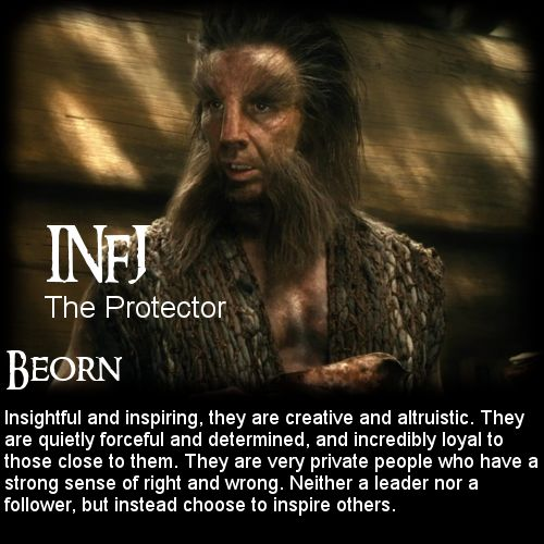 The Hobbit: Battle of the 16 Personalities - Beorn [INFJ ...
