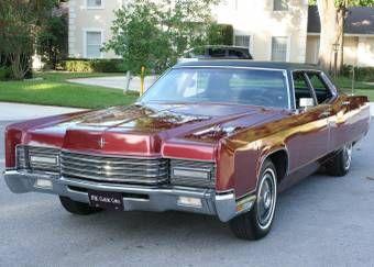 1970 Lincoln Town Car