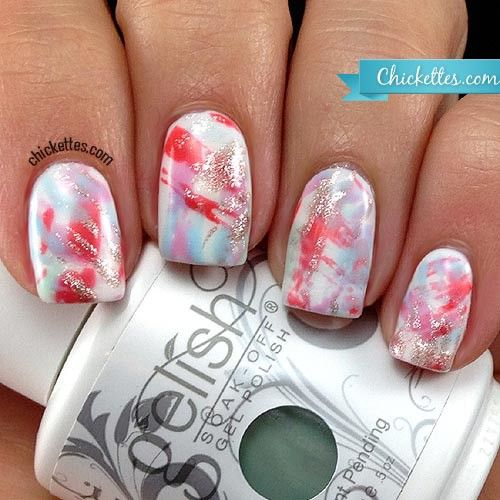 93 Best Gelish Nail Art Images On Pinterest
