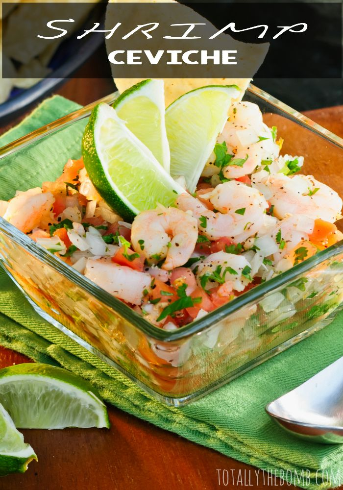 I don't know if I have ever had shrimp ceviche!