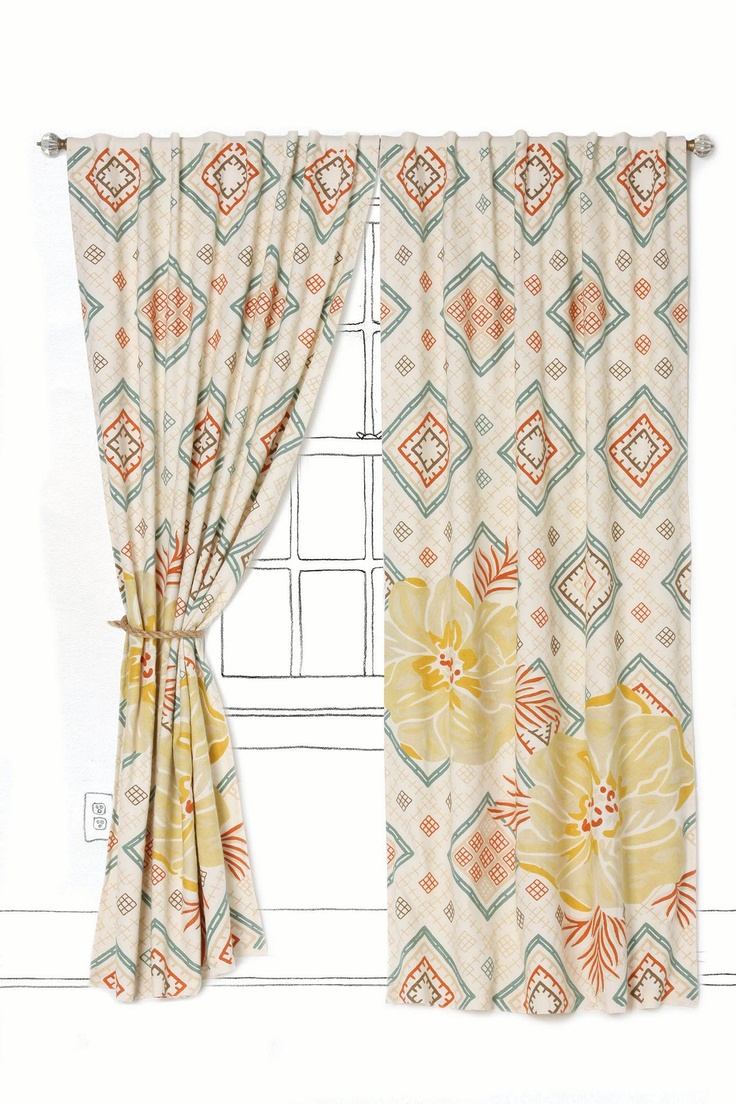 112 best Window Art images on Pinterest | Curtain ideas, Drapery ...