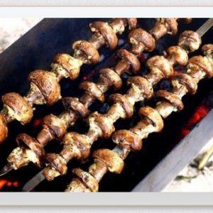 Mushroom Skewers. Recipes with photos.