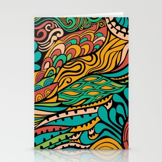 Vivid Ethic Pattern by Markovka, $12. https://society6.com/product/vivid-ethnic-pattern-amo_cards?curator=bestreeartdesigns