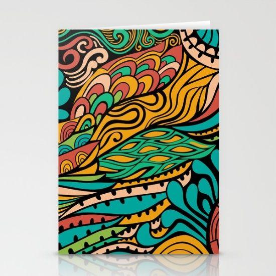 Vivid Ethic Pattern by Markovka, $12. https://society6.com/product/vivid-ethnic-pattern-amo_cards?curator=bestreeartdesigns