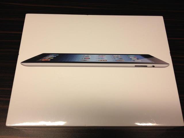 New iPad @ home