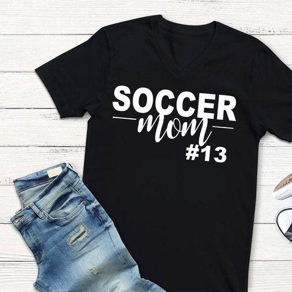 52d884fd5 Soccer Mom Shirt - Soccer Mom Tshirt - Soccer Mom Gift - Cute Soccer ...