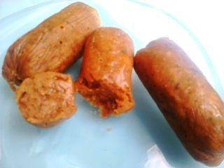 Chorizo picante de soja
