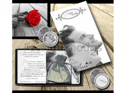 Invitación de boda - CAJA DOLCE  E700-670