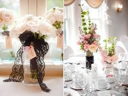 lace themed wedding decor - Google Search