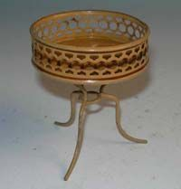 Rare German Bing Antique miniature dollhouse Plant stand jardinière from sondrakruegerantiques on Ruby Lane