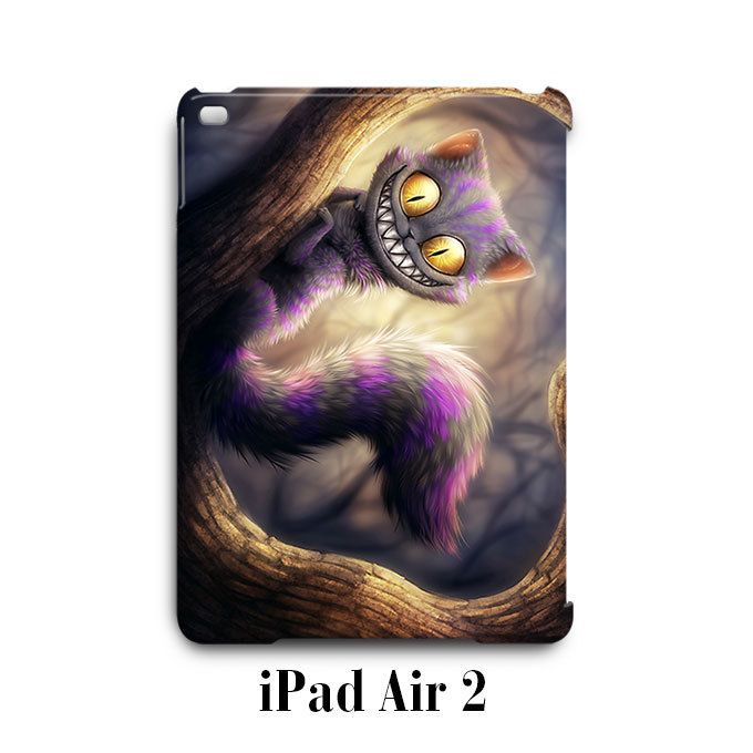 Chesire Cat Alice in Wonderland iPad Air 2 Case Cover Wrap Around