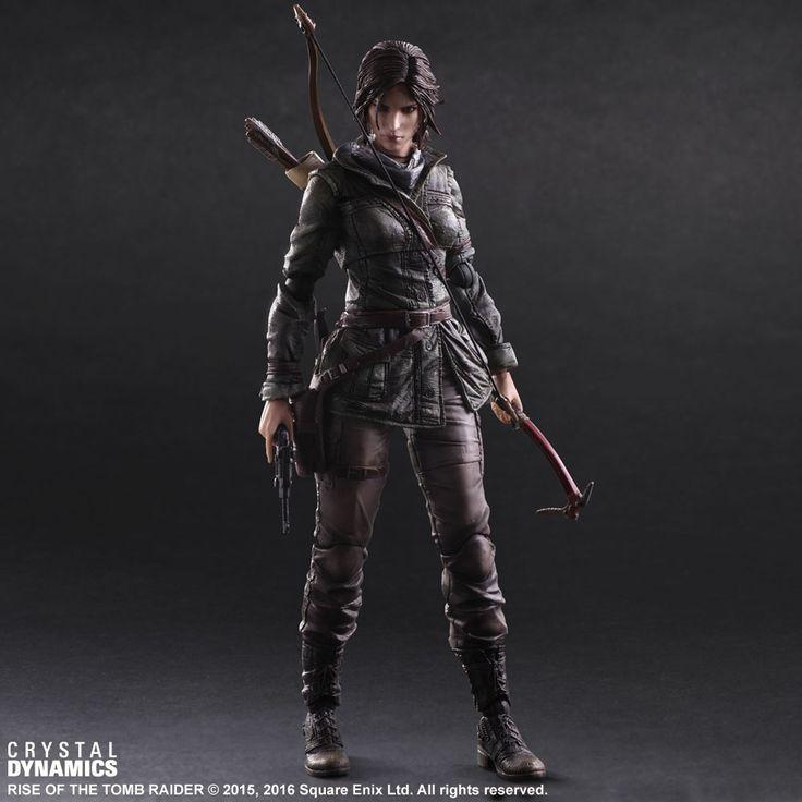 Play Arts Kai Rise of the Tomb Raider Lara Croft 001
