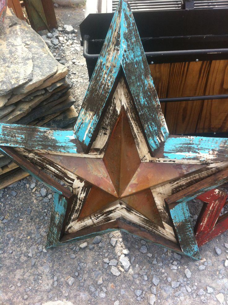 Estrella de madera pallet