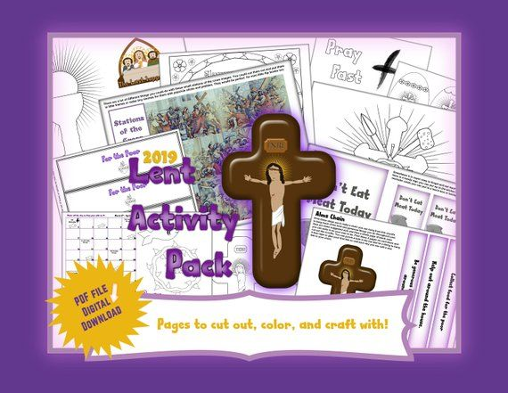 Help Your Little Ones Observe This Lenten Season Using This