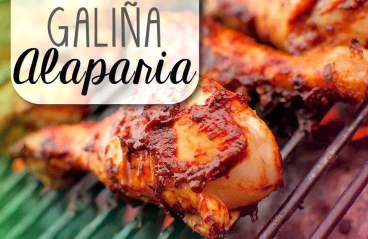 """Galiña alaparia – wie kent het niet? Heerlijk malse stukken kip, perfect gebakken… mét streepjes! Alaparia is eigenlijk gewoon een fonetische vertaling van het spaanse """"ala Parilla"""". De gegri…"""