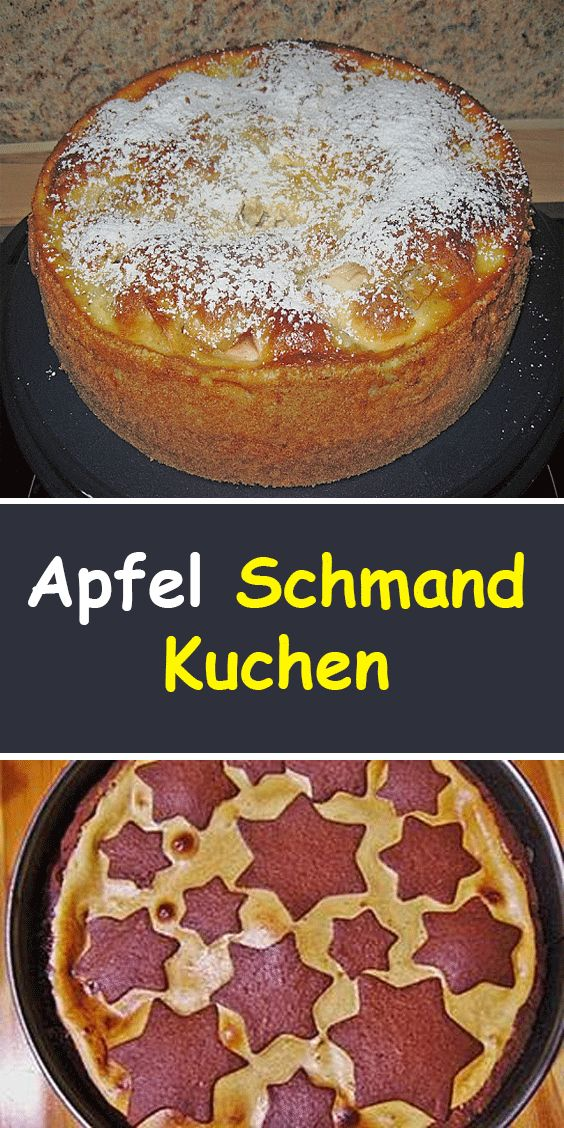 Apfel Schmand Kuchen – Backen
