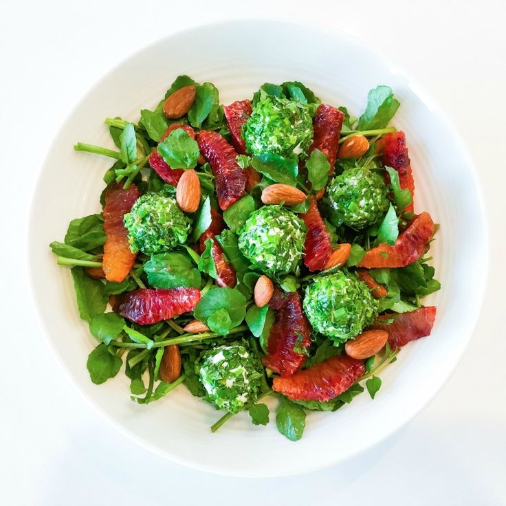 They say we eat with our eyes, and this salad will satisfy your aesthetic  as well as your gastronomic sensibilities! And it features watercress, a  micronutrient powerhouse!