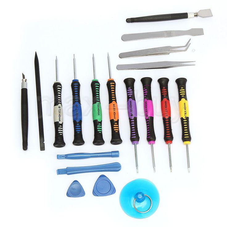 19 in 1 Werkzeug-Set Reparatur Schraubendreher Tools Schraubenzieher Handys Pad