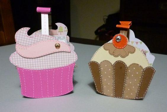 Cestini porta dolcetti - cupcake
