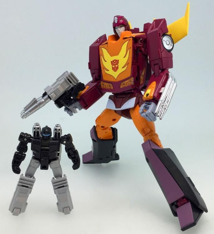 Time to TRIPLE DIP! Transformers MP-40: Hot Rodimus! ...No fishing pole Dano!