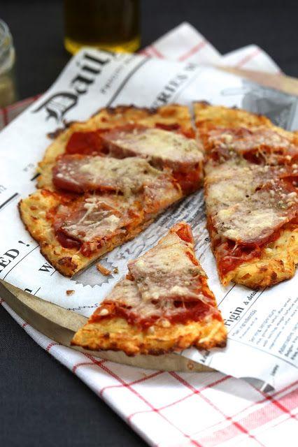 Drôle de pizza avec une base en pommes de terre râpées | On Dine chez Nanou