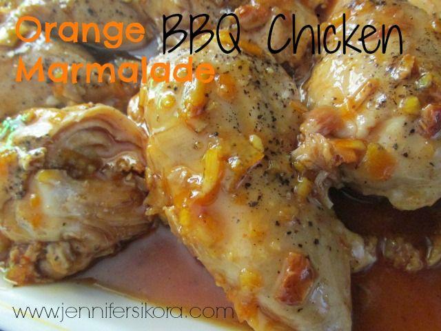 Orange Marmalade BBQ Chicken - Jen's Journey