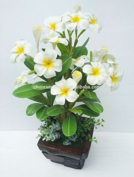Plumeria Clay Flowers
