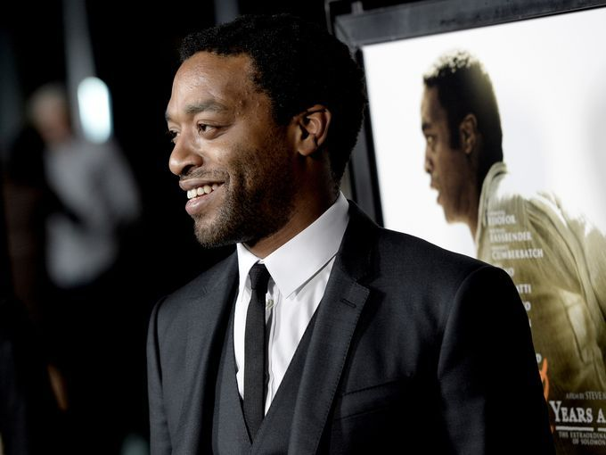 """Actor Chiwetel Ejiofor, star of """"12 Years a Slave"""" arrives at a Los Angeles screening for the movie Oct. 14. The film is based on the autobiography of Solomon Northup, a free man kidnapped into slavery in 1851.  It will be in limited release in U.S. theaters this weekend."""