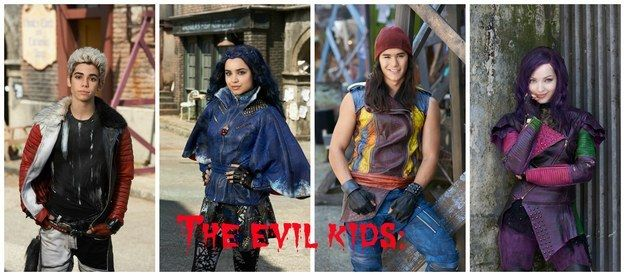 "Here's The First Look At Your Favorite Disney Characters' Spawn In ""Descendants"""