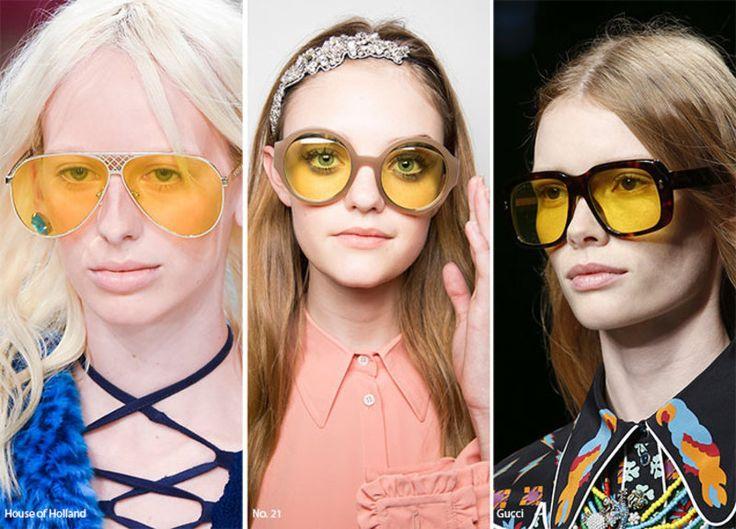 10+1 τάσεις από τις πασαρέλες: Αυτά είναι τα γυαλιά ηλίου που θα πρωταγωνιστήσουν τη νέα σεζόν / Fashion / Woman TOC
