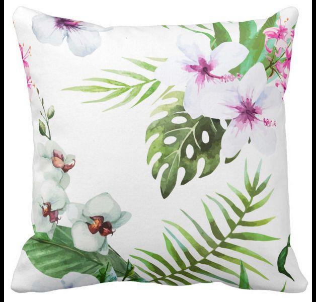 Poduszka dekoracyjna Kwiaty tropikalne Tropic
