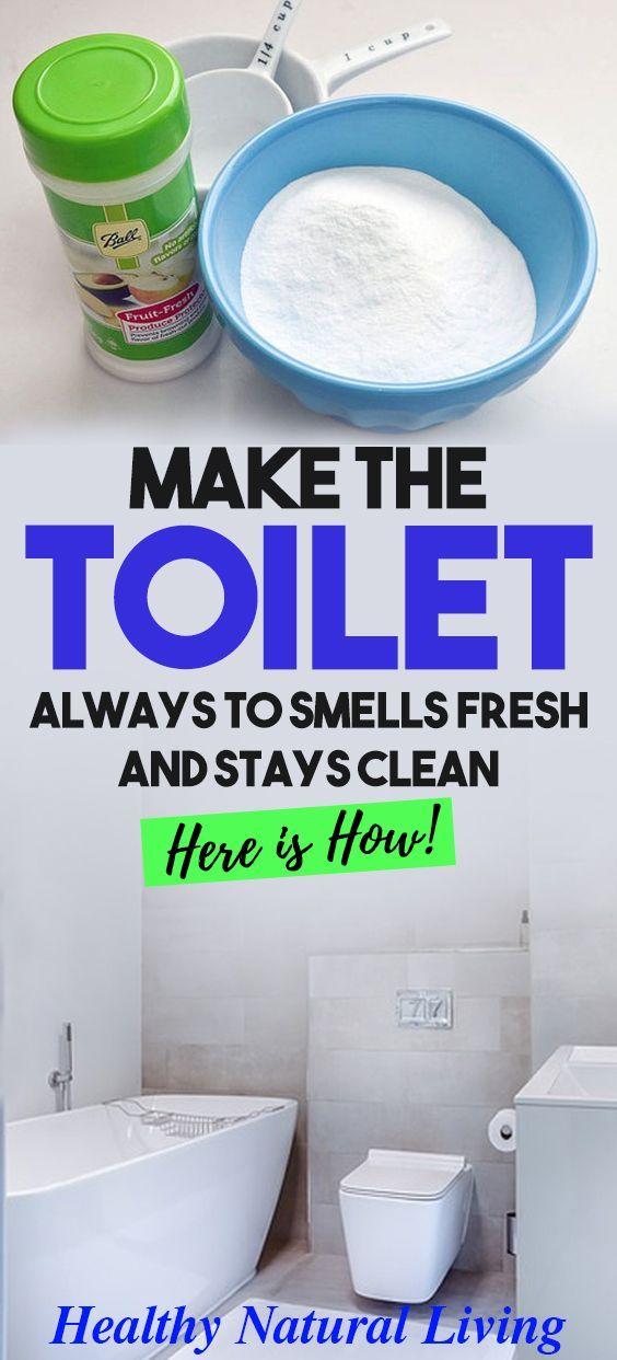 25 + › Machen Sie das WC immer frisch zu riechen und bleibt sauber – HIER IST WIE!