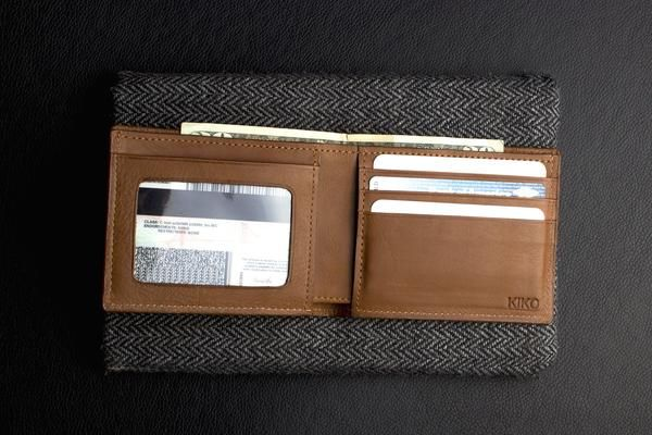 Our Striped ID Wallet is finely crafted with cowhide leather for a richly…