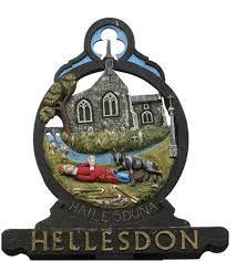 Hellesdon village sign