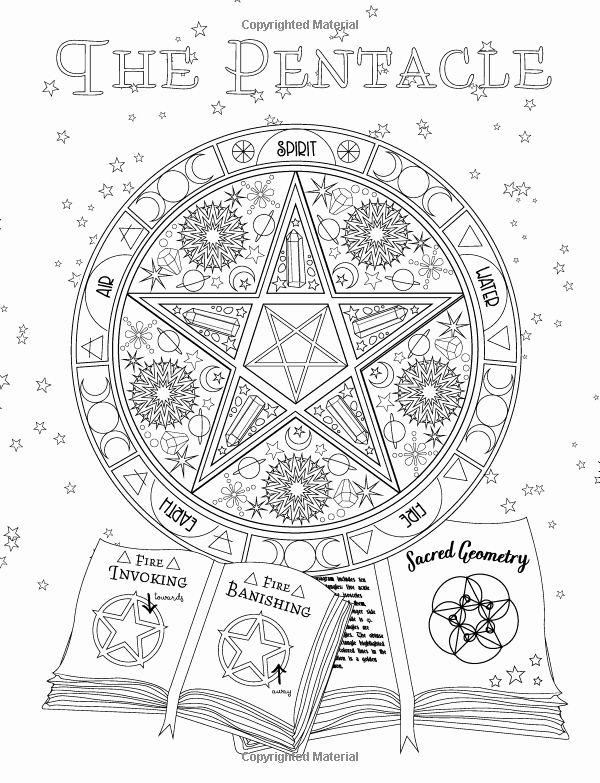 Book Of Shadows Coloring Book Elegant Coloring Book Of Shadows Amy Cesari Halloweenfiles Com Witch Coloring Pages Book Of Shadows Coloring Books