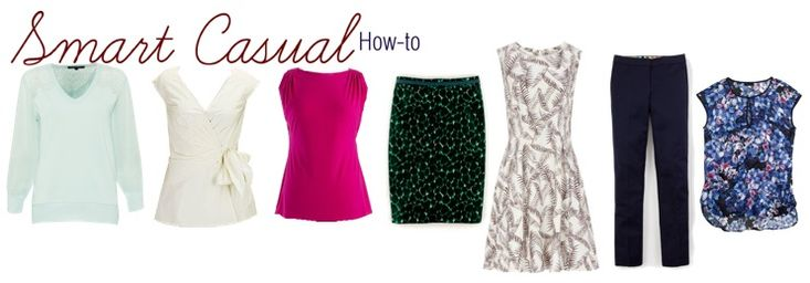 """You were invited to an event.  The dress is """"smart casual"""".  You have no idea what the heck that means.  Get all your answers, tips and outfit inspiration on this very specific dressing category here."""