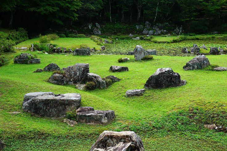 常栄寺庭園(山口県山口市)。雪舟が築いた庭園の一つである