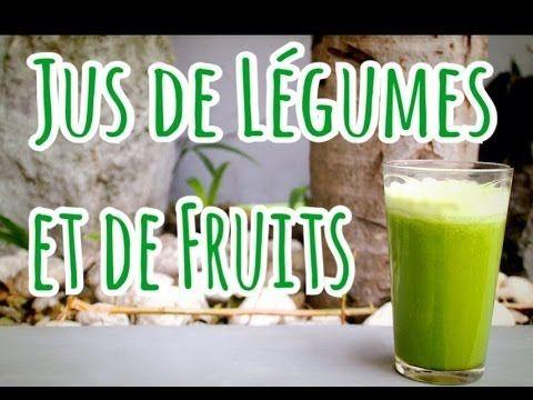 Jus de légumes et de fruits (centrifugeuse) : 2 pommes vertes + 2 concombres + 500g de raisins + 2 grosses poignées d'épinards => 750 ml environ de jus